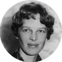 Female Pioneer Amelia Earhart