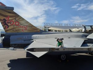 Me on a real Rafale