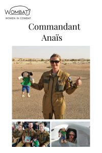 Willow Willpower in the Press with commandant Anaïs